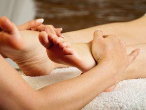 Voet reflex massage